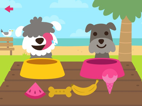 Sago Mini Puppy Preschool gets kids learning through play