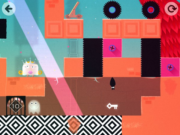 BEST PLATFORM GAME FOR FIVE-YEAR-OLDS: Thinkrolls: Kings & Queens gets kids solving physics-based puzzles in gorgeous castles