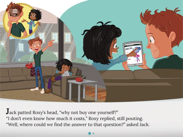 The characters and situations in the book are easy for kids to relate to