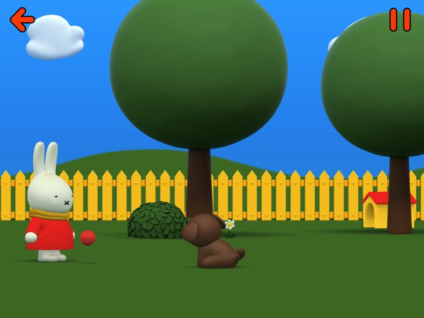 Miffy's World is an engaging activity app for preschoolers