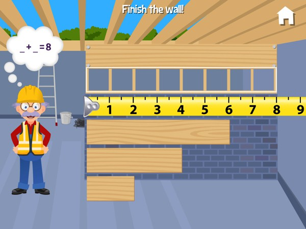 The app promotes an array of skills, such as math, reading, problem solving, and more