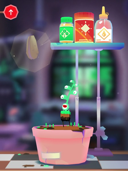 In Toca Lab: Plants, kids can discover and grow up to 35 different plants