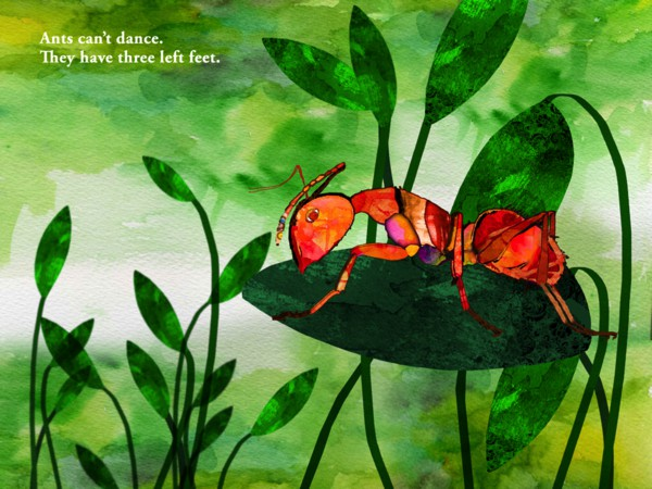 Ants Can't dance is a punny story for kids