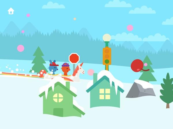 Sago Mini Snow Day takes kids on a jolly sleigh ride