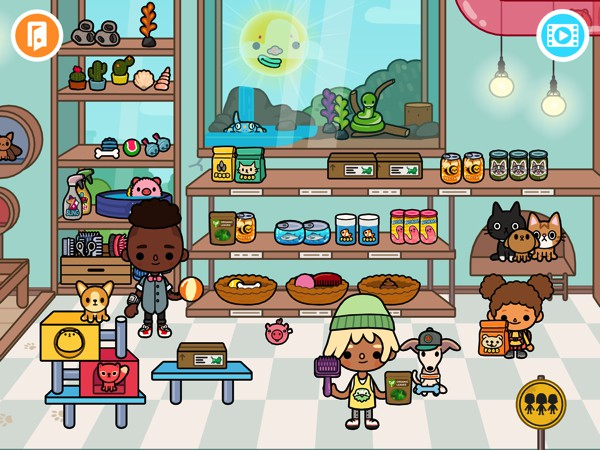 Toca Life: Pets lets kids play with 120+ animals in five unique locations