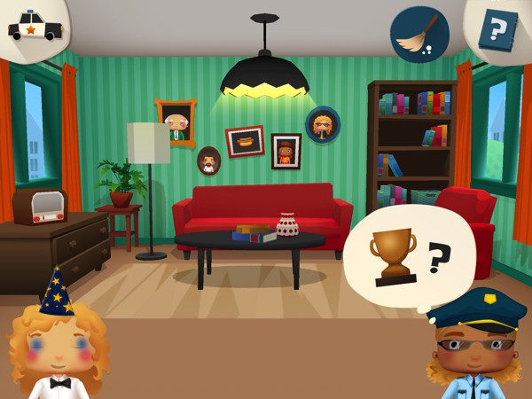 Little Police lets kids role-play as a detective and find missing items