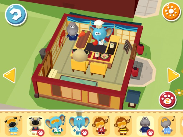 In Hoopa City 2, kids can create bustling cities using a simple interface