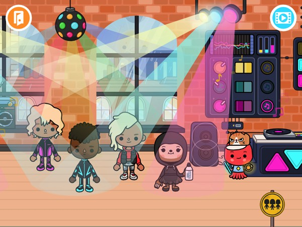 Toca Life: After School lets kids roam around a virtual clubhouse and try various activities from art to sports