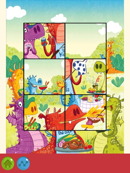 Kids will love looking at the amusing illustrations as they solve the puzzles
