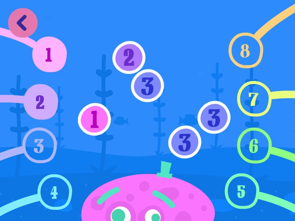 Moppa Maths offers mini games designed to help preschoolers learn math topics