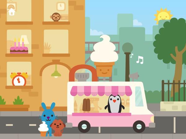 Sky-high buildings, bright lights, food trucks: Sago Mini Big City packs plenty of fun surprises at every corner