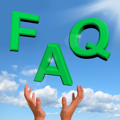 ('Hand catching FAQ' image by Stuart Miles)