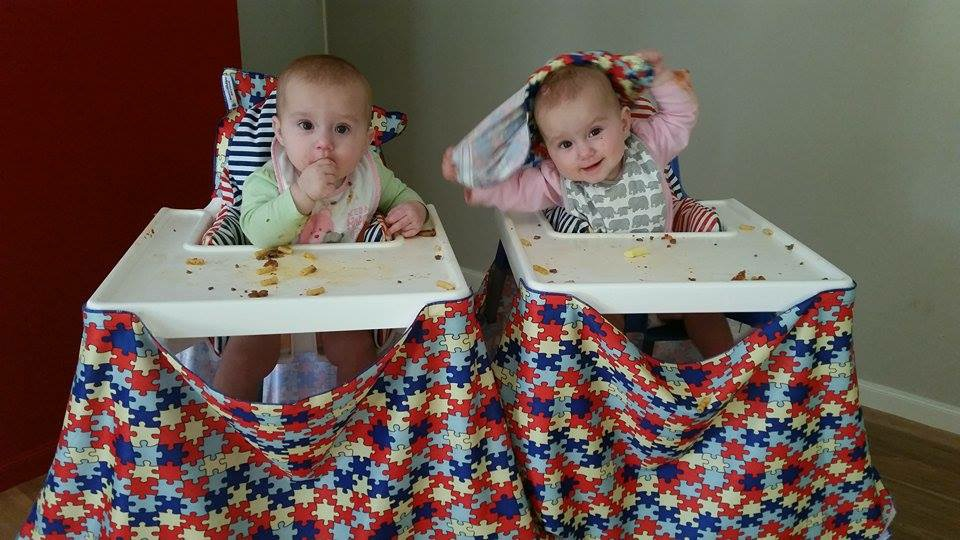 high chair food catcher twins