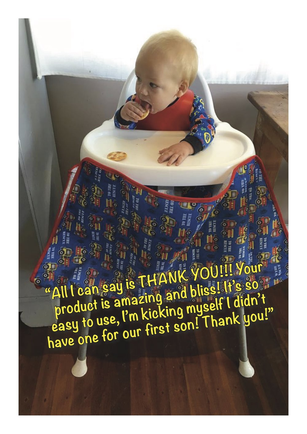 All I can say is THANK YOU!!! You're product is amazing and bliss! It's so easy to use, I'm kicking myself I didn't have one for our first son! Thank you!.jpg