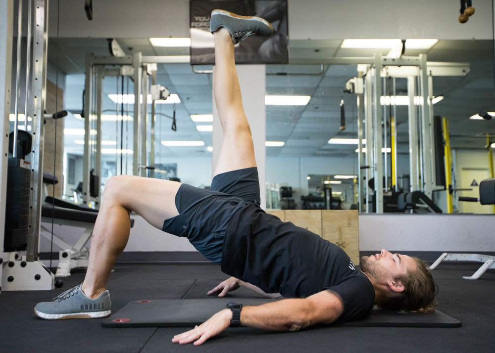 No Equipment Core Workout - Build a balanced core that can handle power with nothing but your own body weight in less than half an hour.  Use the link below for your free workout.
