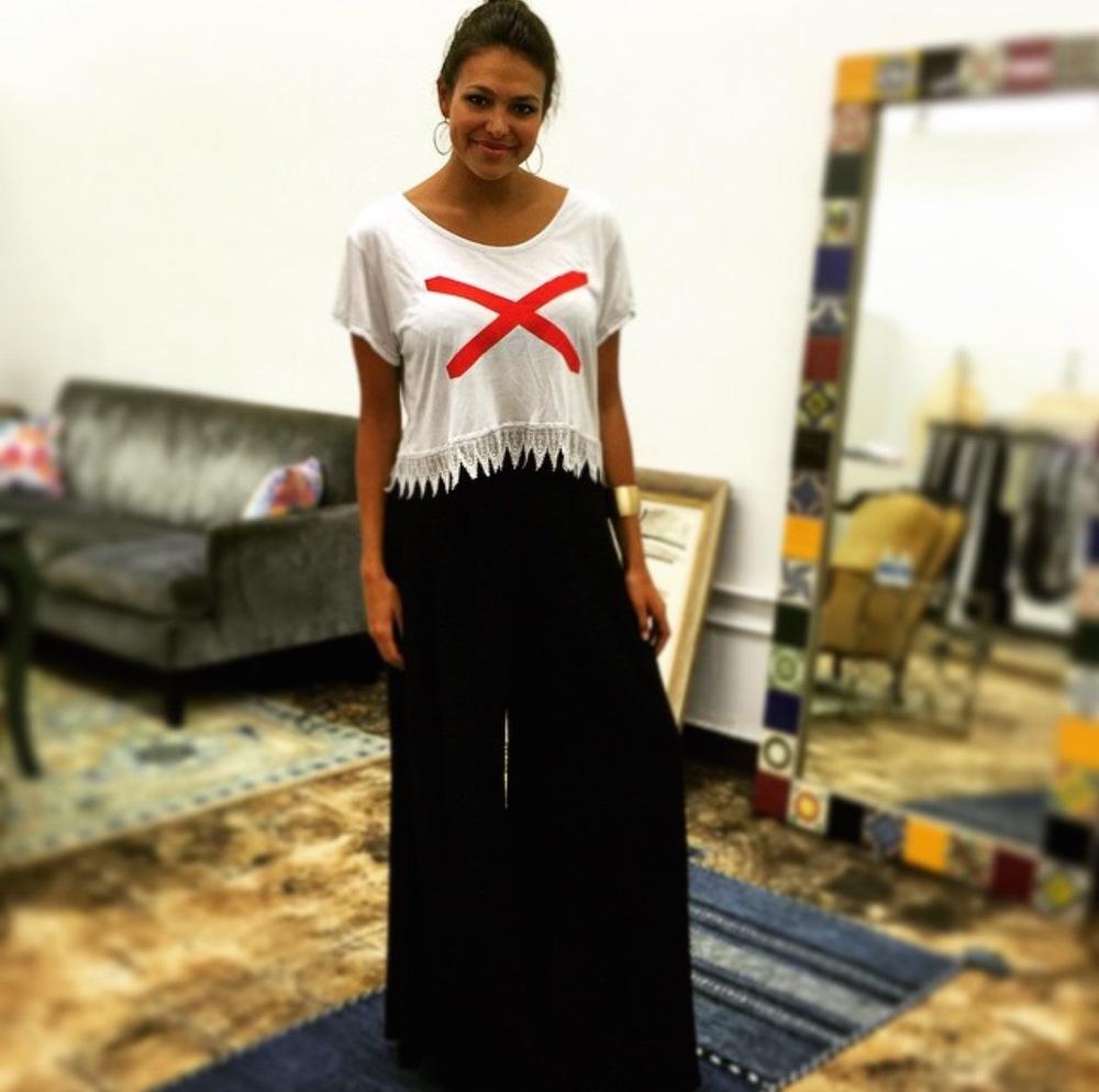 Caitlin Brunell, Miss Alabama 2014, in bohēm Design Studio on2115 1st Ave North