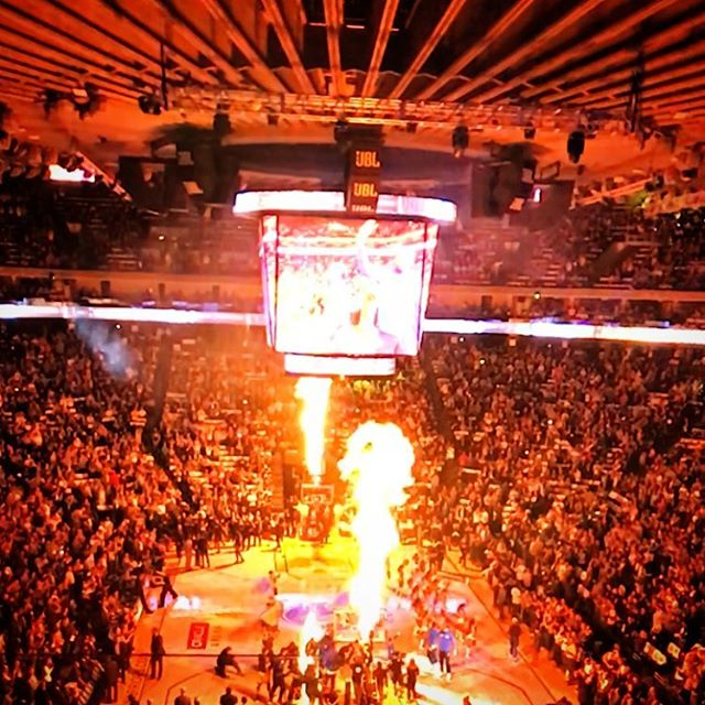 There needs to be more fire in more sports. #warriors #fire #justsaying