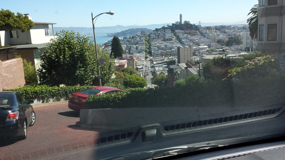 Lombard St. before I flew out