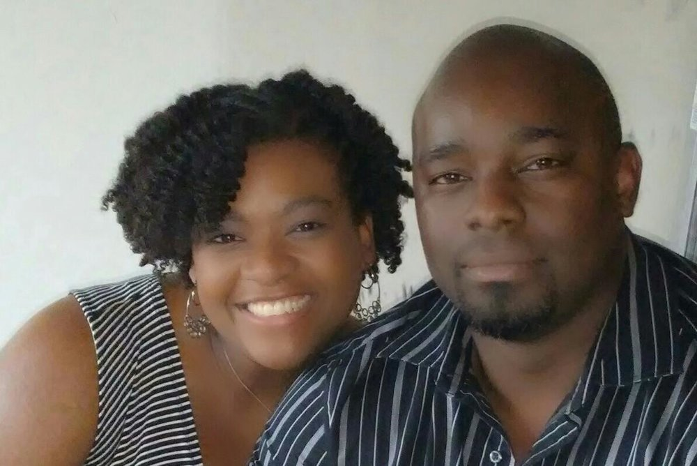 Vanesha and husband │ Vanesha is a Librarian in a major school district outside of Houston. She's a wife and mother of 3 girls—one energetic toddler and two beautiful step daughters.