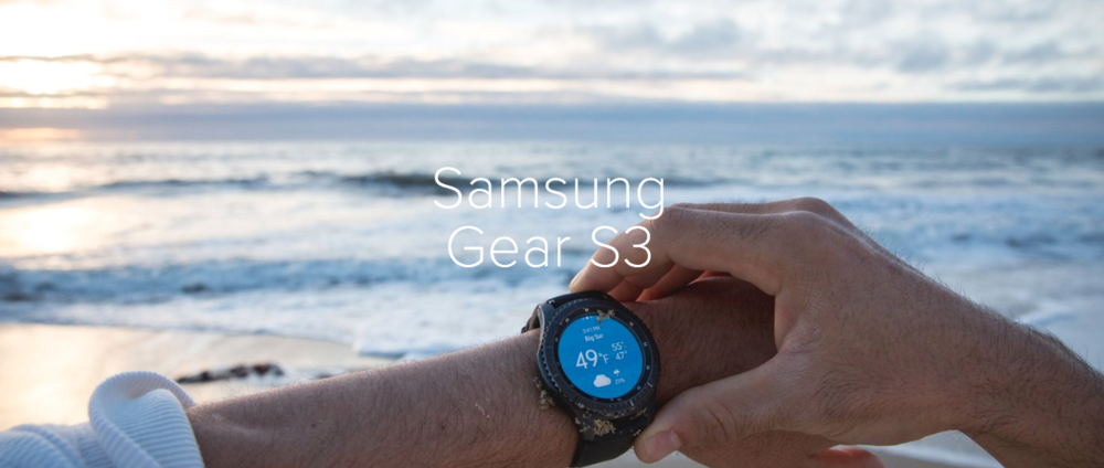 +Samsung Gear S3 Campaign -