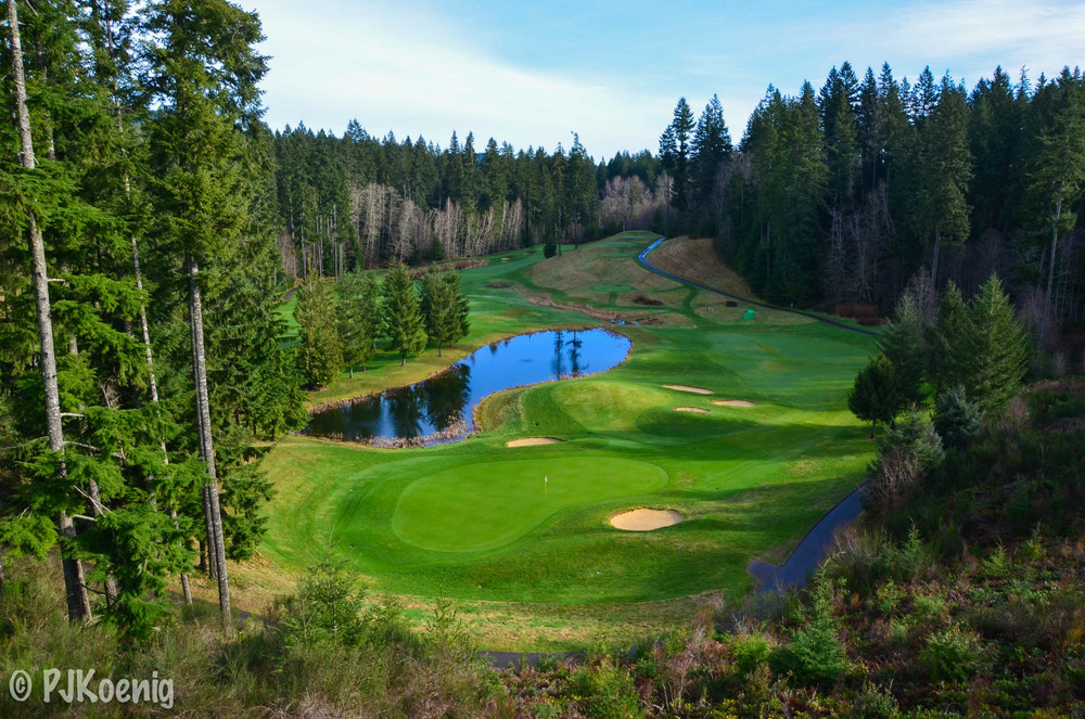 Gold Mountain Golf Club - Bremerton, WA