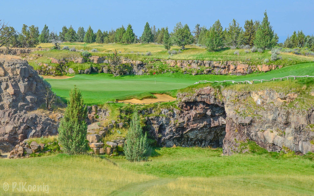 The 8th hole at Pronghorn takes the cake in Best Par 3.