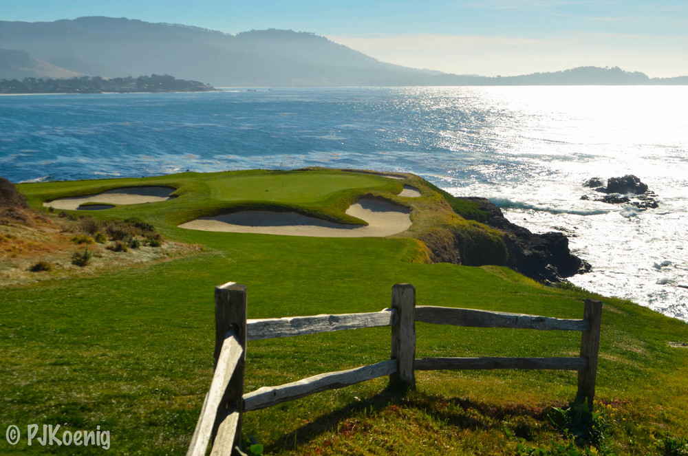 Pebble Beach takes top honors in the first edition of the PJKoenig golf rankings.