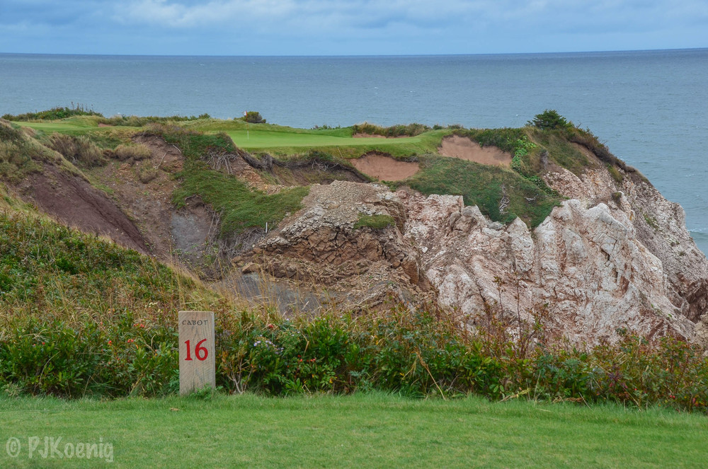 The outstandingly good Cabot Cliffs makes it's debut at no.3