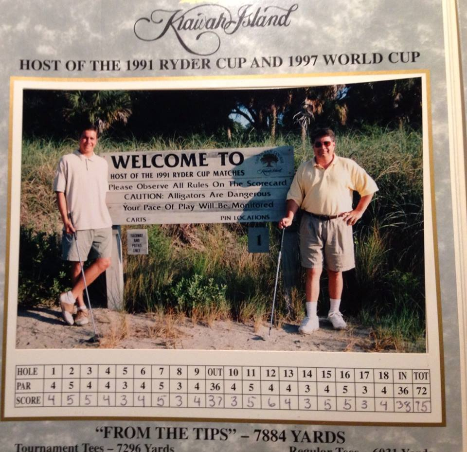 My first championship golf course!! Kiawah Island debuts at no 4. This was before my picture taking days.