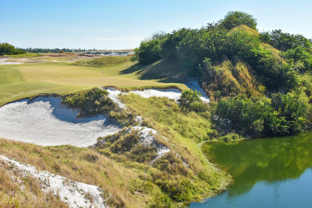 The Biarritz swale on 16 swallowed up several of our shots.