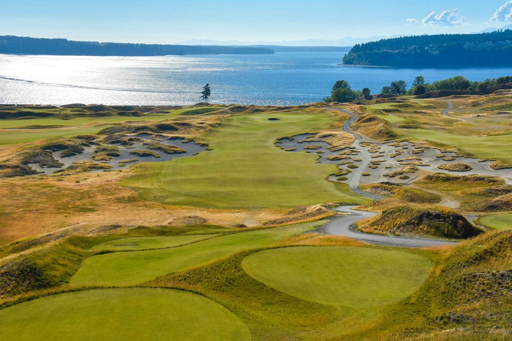 Chambers Bay in Washington State.