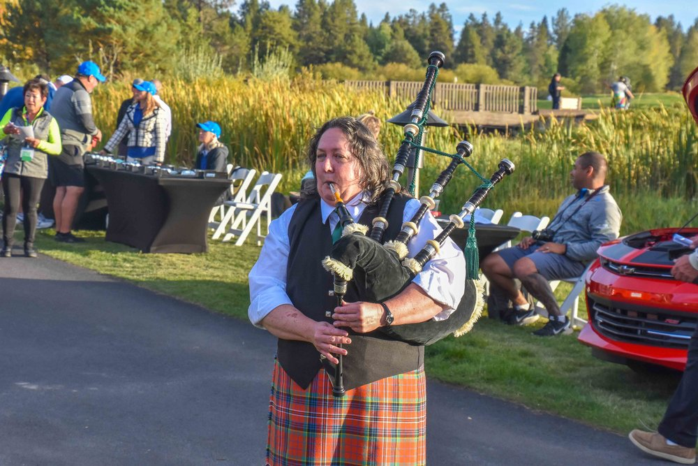 Bag piping scene is strong at the PacAm