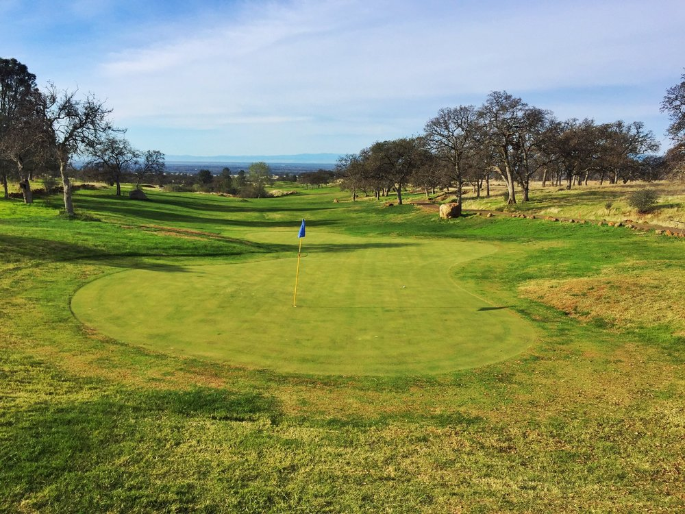 A look back on the 3rd hole at Tuscan Ridge.