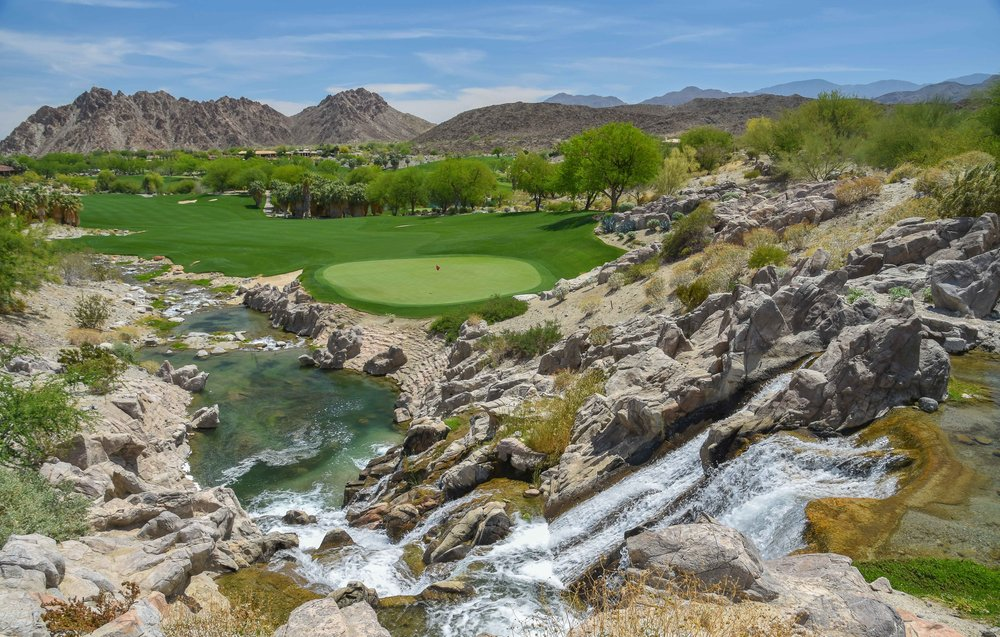 The 10th hole at The Quarry in La Quinta