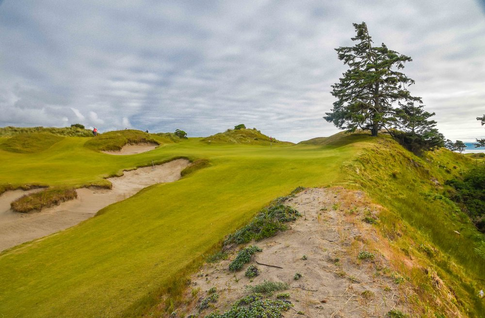 The 2nd hole at  Bandon Preserve  gets the golf juices flowing.
