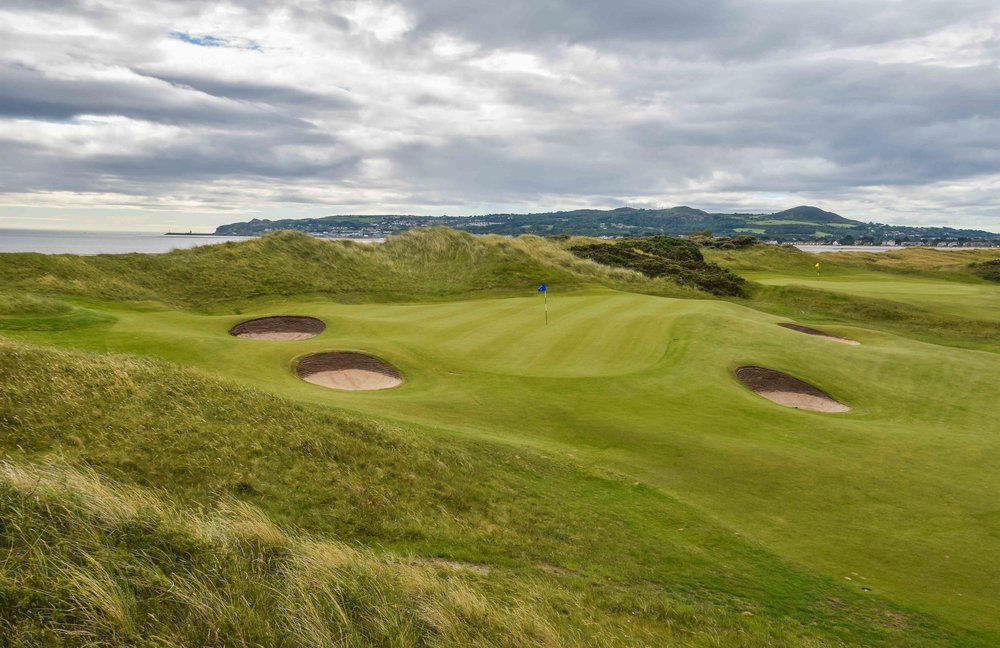 The 12th hole at Portmarnock