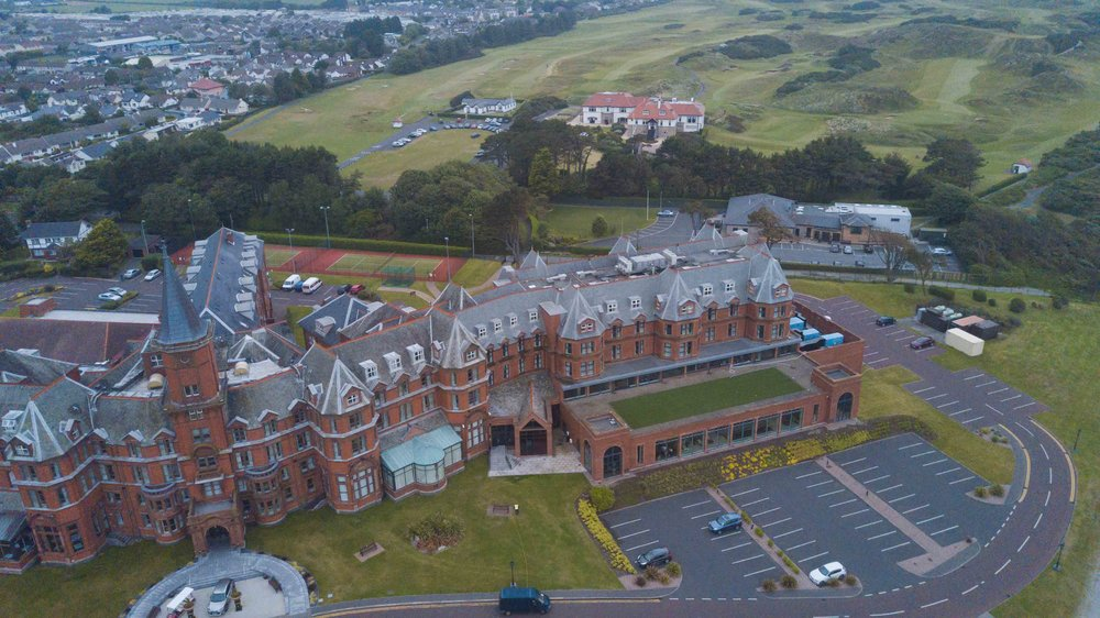 If you are planning a visit to Royal County Down, I highly suggest staying at the Slieve Donard.  For a castle right next door to the world's highest rated golf course, it's not too pricey.