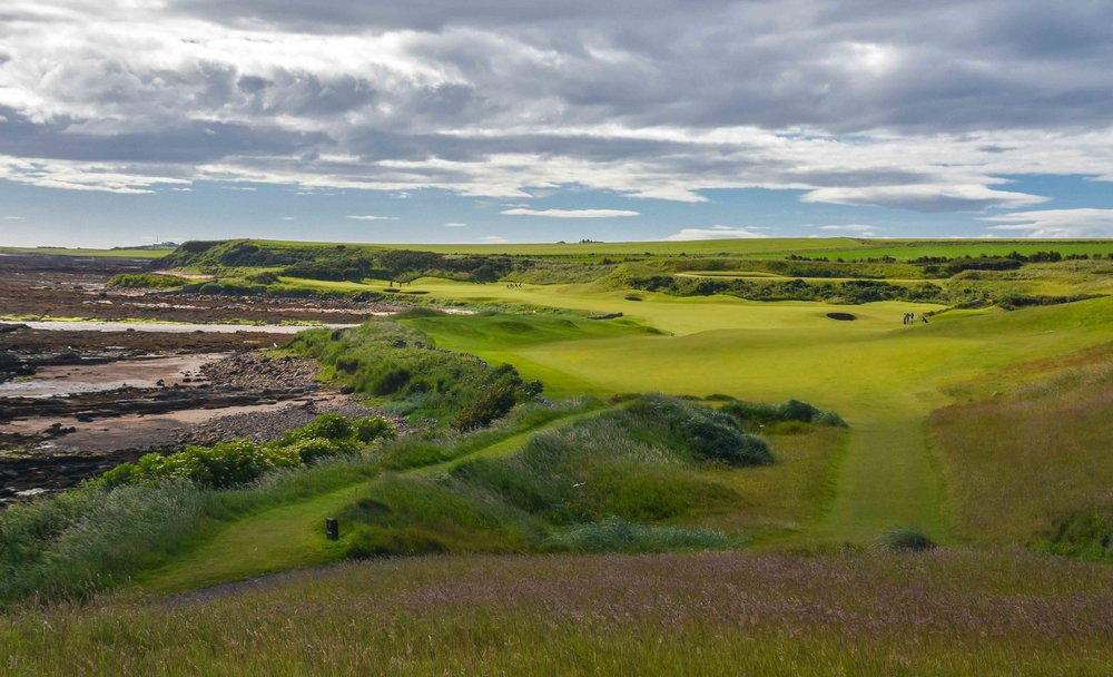 The 12th hole at Kingsbarns was recently voted the best par 5 in Scotland based on a poll conducted by VisitScotland.com