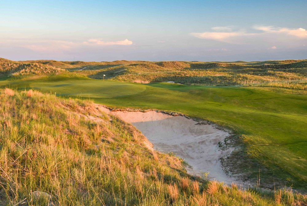 The 6th hole at Ballyneal