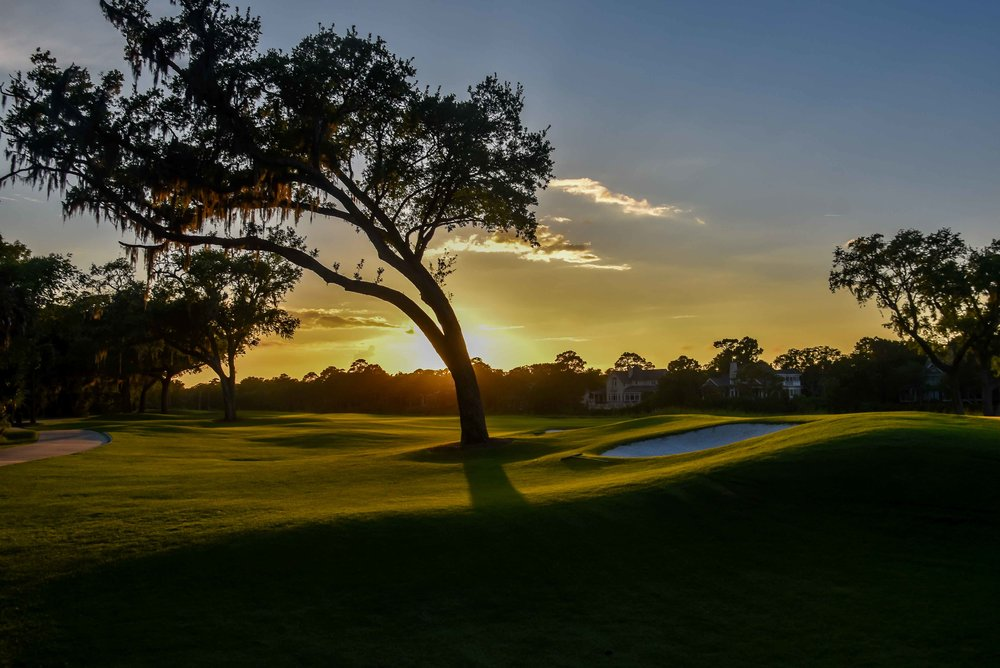 The sun sets over Osprey Point and another day on The RGV Tour ends.