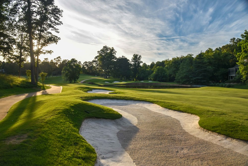 The 18th at Greenville CC would be the final hole golfed in South Carolina.