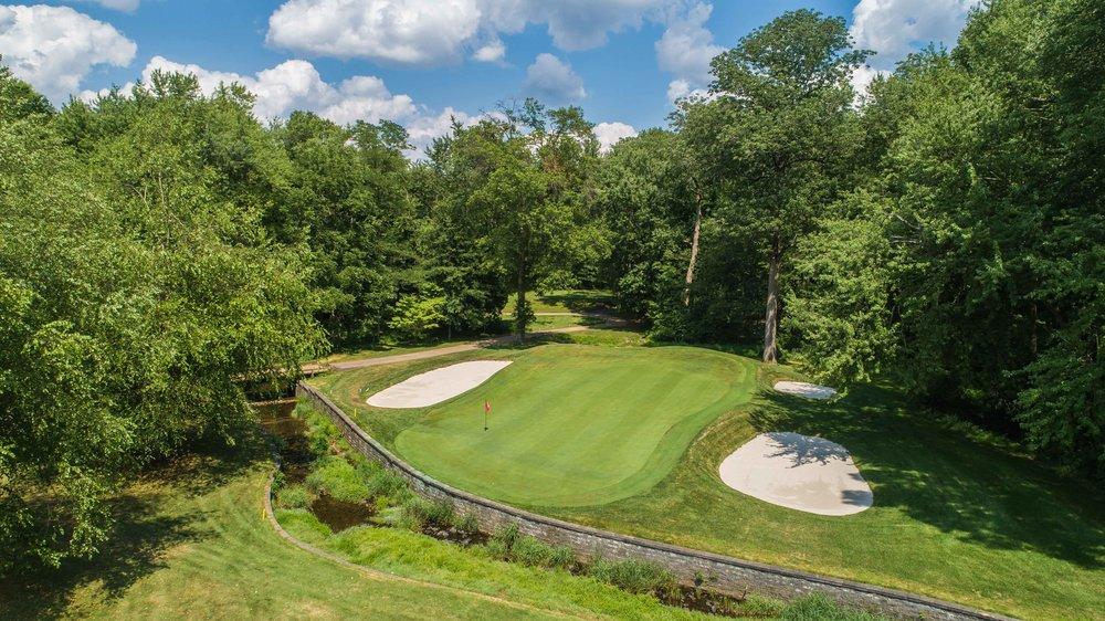 The 10th hole at Watchung Valley