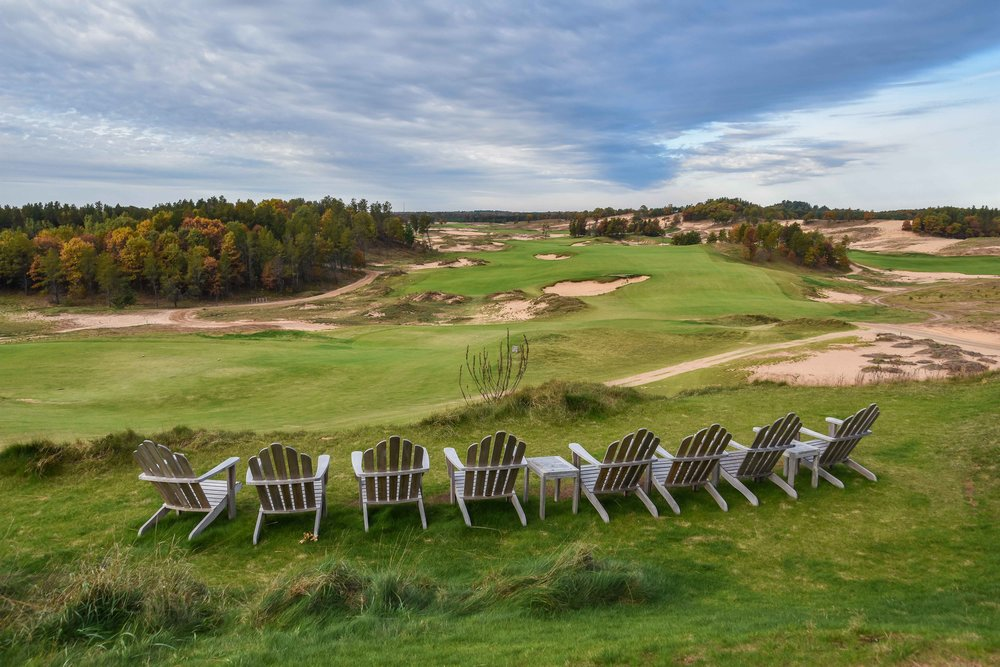 Probably the most popular picture from Sand Valley, this shot is hard not to take.