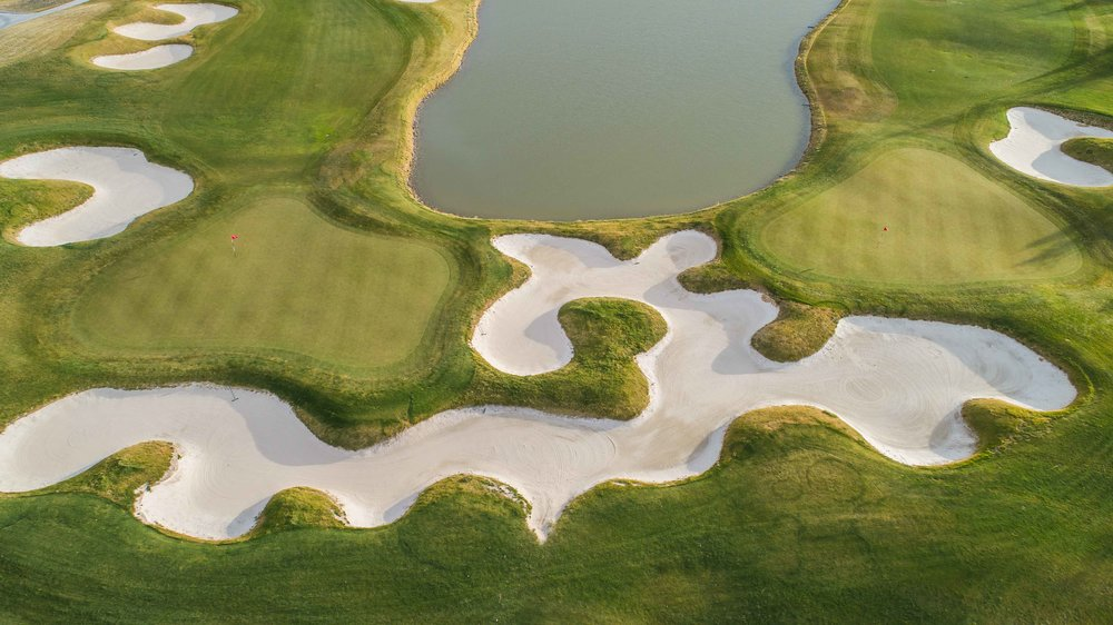 The 18th hole at Three Crowns was the final course needed for golf in all 50 states.