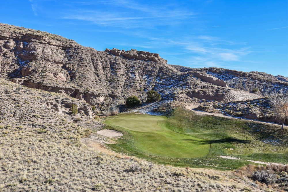 The 11th hole is a strikingly cool par 3.