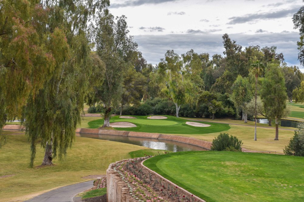 The 7th hole at Mesa Country Club.