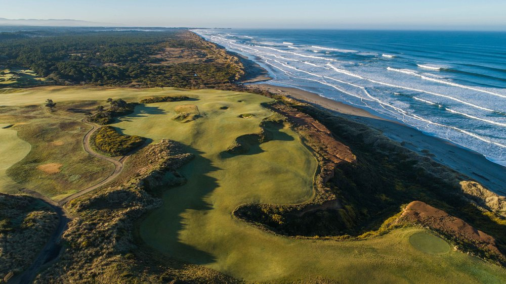 The 16th hole at Bandon Dunes is a fan favorite and one of the best golf holes on the entire property.