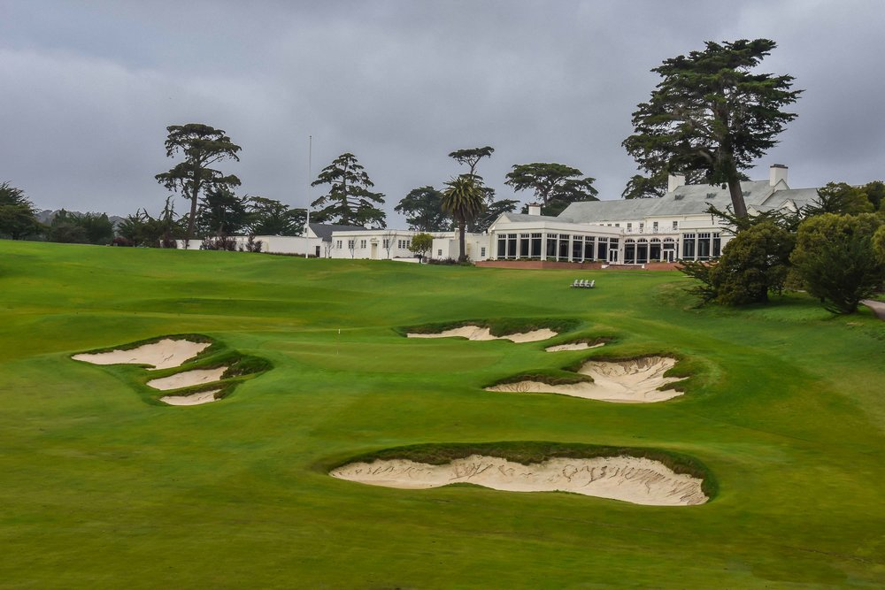The finishing hole at Cal Club