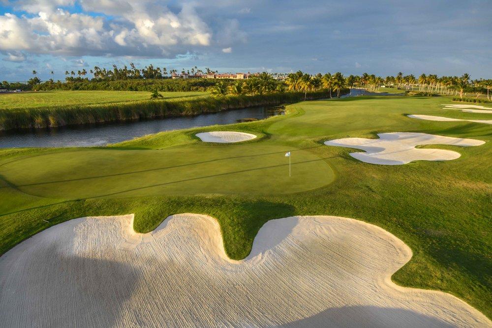 Coco Beach plays home to the PGA Tour's Puerto Rico Open.