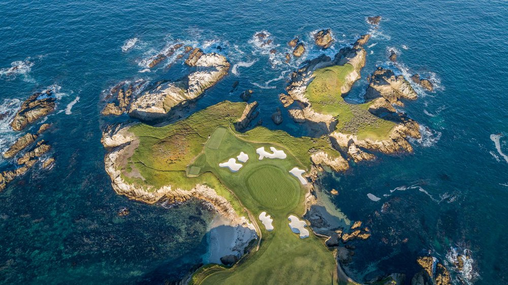 The 16th at Cypress Point in California